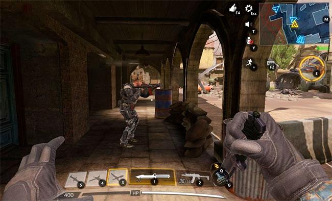 Call of Duty Mobile на компьютере в Gameloop