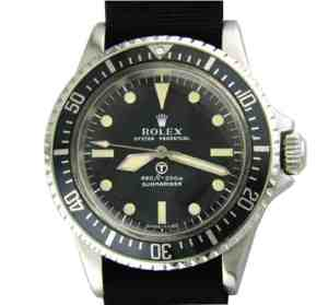 Rolex Military Submariner 5517 Milsub