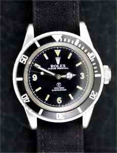 Rolex Military Submariner A/6538