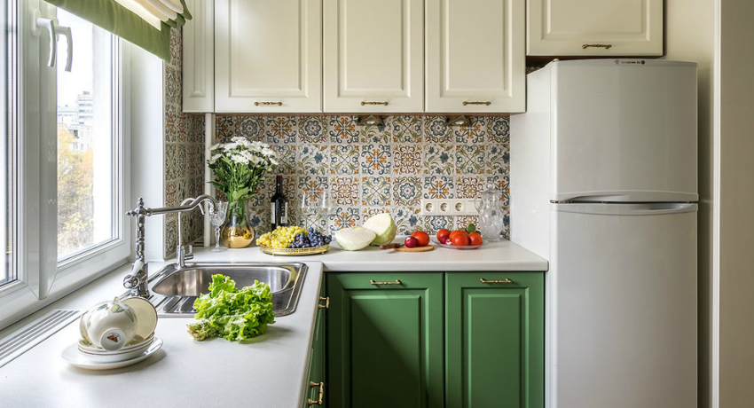 оформление кухонного окна фото идеи дизайн 2