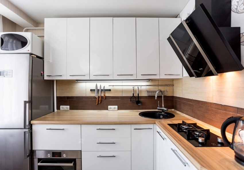кухни в брежневке фото дизайн малогабаритные 6 квм 1