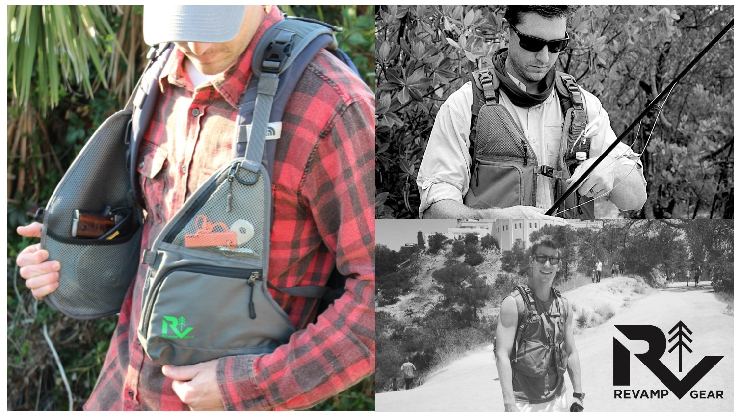 revamp gear front vest pack collage