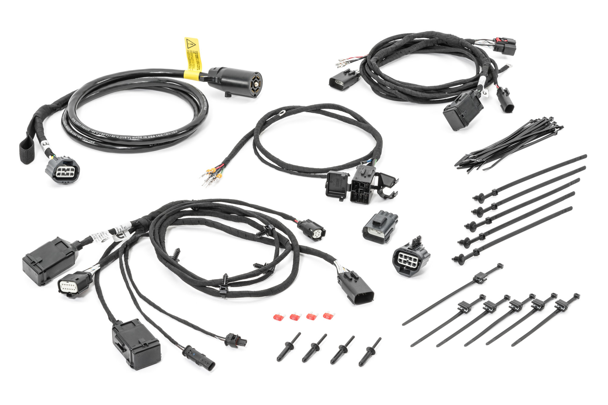 Mopar 82216358AA RV Towing Harness for 18-21 Jeep Wrangler