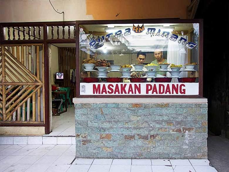Masakan padang food Rumah Makan Ubud Tegallalang