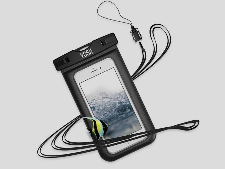 Waterproof iPhone case Packing list for snorkelers