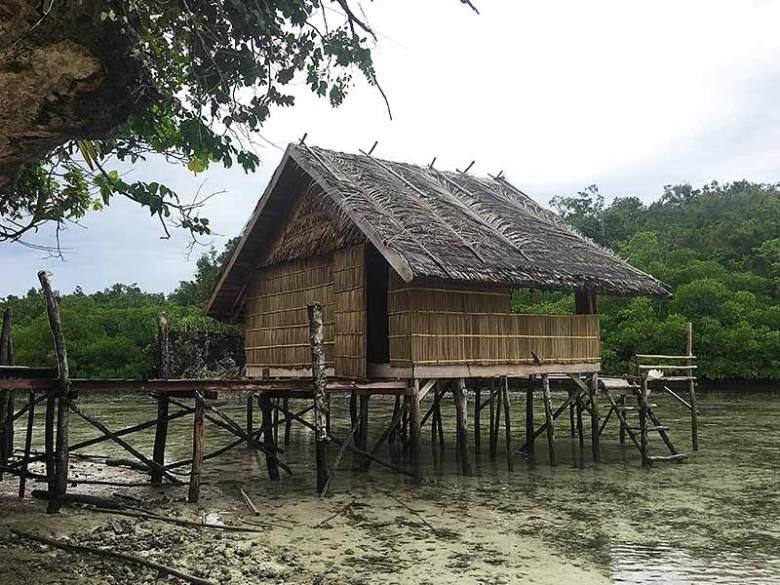 Traditional Raja Ampat Bungalow