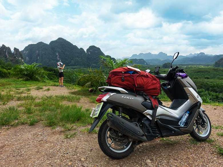 Southern Thailand Khao Sok National Park landscape viewpoint