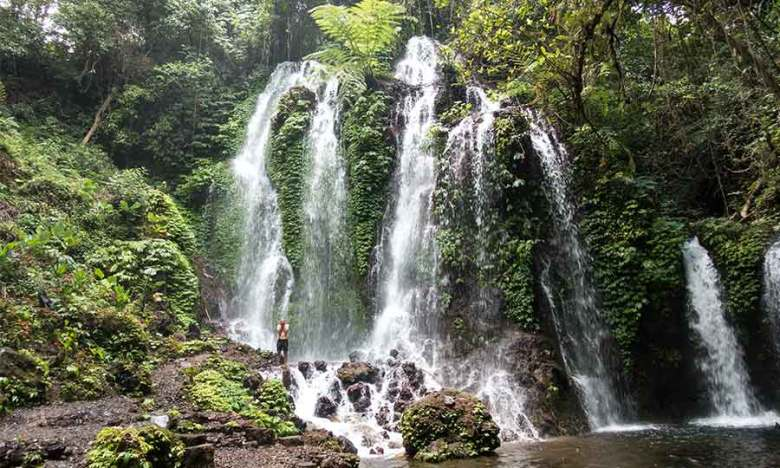 Best Bali waterfall Bhuana Sari