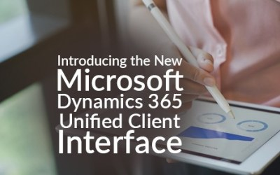 Introducing the New Microsoft Dynamics 365 Unified Client Interface