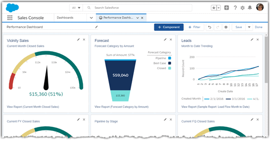 Journey to a Lightning Experience report builder and dashboards