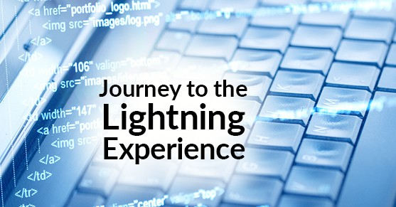 Journey to the Salesforce Lightning Experience