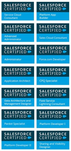 remoteCRM Salesforce Certifications