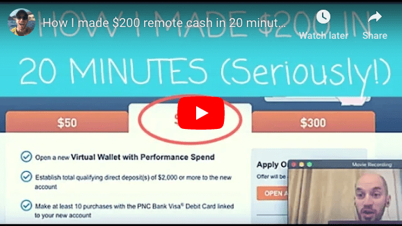 Extra Cash in 20 minutes