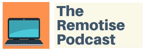 the remotise podcast logo 2019