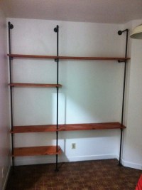 Wood How To Build A Shelf Unit On A Wall PDF Plans