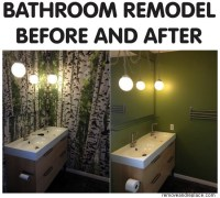 Bathroom Remodel DIY Easy Weekend Project - us2