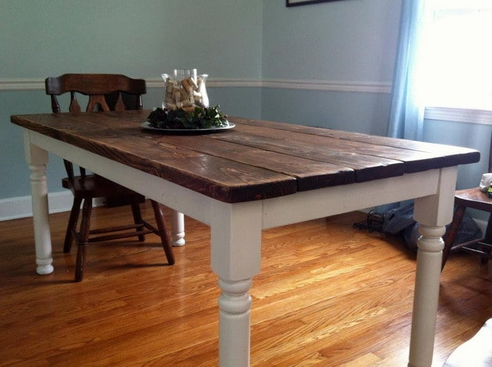 build kitchen table soap caddy how to a vintage style dining room yourself 11