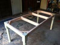 How To Build A Vintage Style Dining Room Table Yourself ...