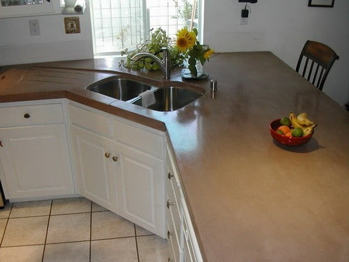 kitchen countertops cost per square foot cheap modern cabinets concrete countertop ideas and examples - part 1 of 2 ...