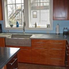 Kitchen Countertops Cost Restaurant Tables Concrete Countertop Ideas And Examples - Part 1 Of 2 ...
