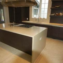 How To Replace Kitchen Countertops 60 40 Sink Concrete Countertop Ideas And Examples - Part 1 Of 2 ...