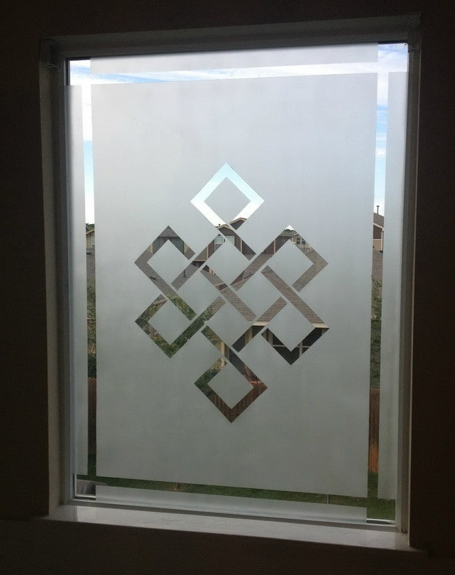 Frosted Glass Window Cake Ideas and Designs
