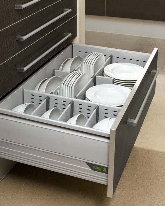 35 Kitchen Drawer Organizing Ideas  DIY Organized Living  RemoveandReplacecom