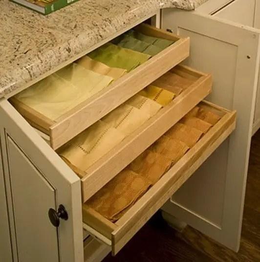 kitchen drawer repair ikea cabinets reviews 35 organizing ideas - diy organized living ...
