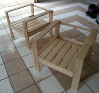 How To Build A Simple DIY Outdoor Patio Lounge Chair ...