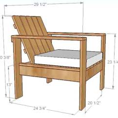 Diy Patio Chairs Tables And Melb How To Build A Simple Outdoor Lounge Chair Dimensions