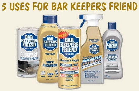 5 Uses For Bar Keepers Friend Multi Purpose Cleaner  RemoveandReplacecom