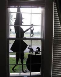 34 Scary Outdoor Halloween Decorations And Silhouette ...