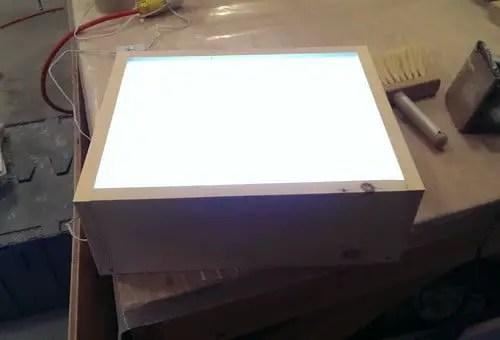 Unique Craft Display Idea DIY LED Light Box