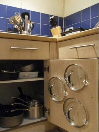 how to add a pantry your kitchen wall backsplash 30 pots and pans storage solutions ...