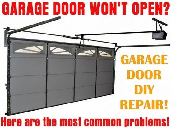Manual Garage Door Won Open  gameinfinity