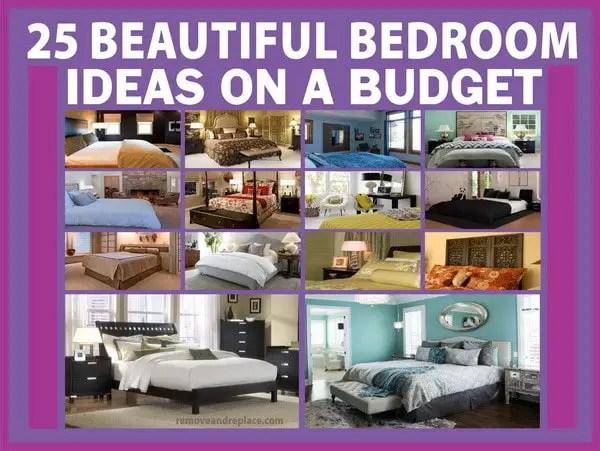 25 Beautiful Bedroom Ideas On A Budget
