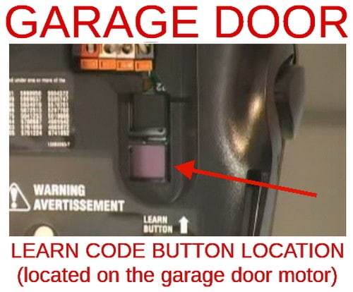 Image Result For Where Is The Learnon On A Garage Door Opener