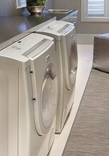 how to make a wood countertop for laundry room