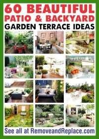 60 Beautiful Patio And Backyard Garden Terrace Ideas ...
