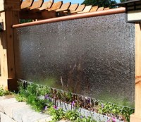 30 Relaxing Water Wall Ideas For Your Backyard or Indoor ...