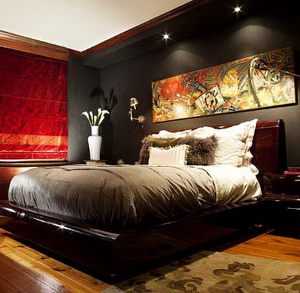Mens Bedroom Decorating Ideas