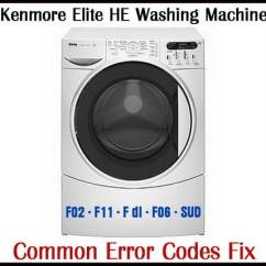 Ge Dryer Wire Diagram Building Wiring Kenmore Elite He3 Washing Machine Error Codes Fix | Removeandreplace.com