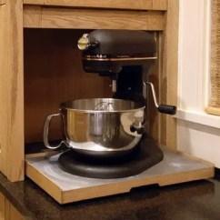 Kitchenaid Kitchen Black Chairs 40 Appliance Storage Ideas For Smaller Kitchens ...