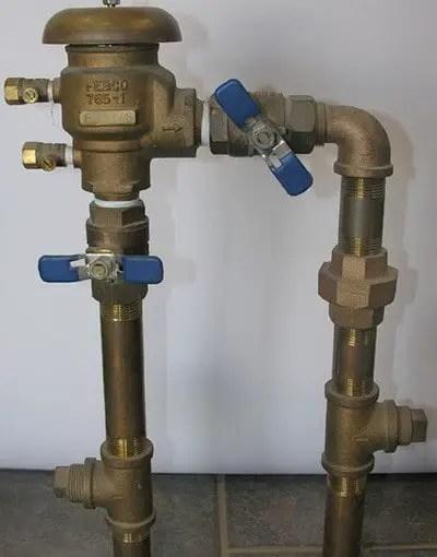 irrigation backflow preventer diagram telephone terminal block wiring home lawn water sprinkler system problems - us3