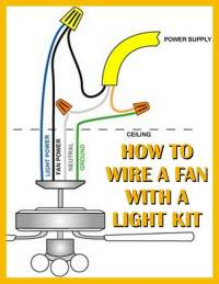 Replace A Light Fixture With A Ceiling Fan ...