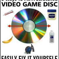 5 Ways To Fix A Scratched Video Game Disc