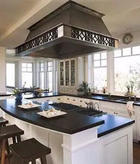 Kitchen Hood Decoration