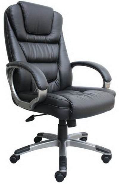 office chairs for heavy people home depot kitchen chair covers top 5 best big and tall boss black leatherplus executive