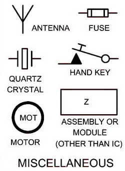 electric antenna wiring diagram ford f250 lights electrical schematic symbols names and identifications motor fuse
