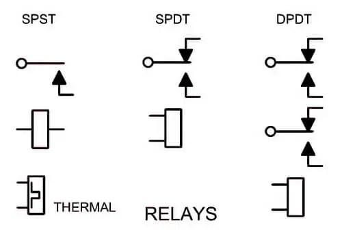 wiring diagram relay symbol hopkins trailer breakaway symbols auto electrical